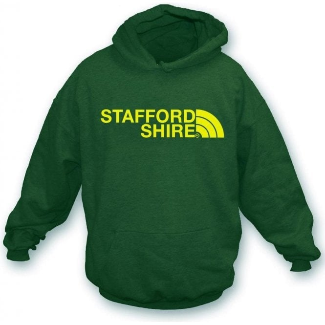 Staffordshire Region Kids Hooded Sweatshirt
