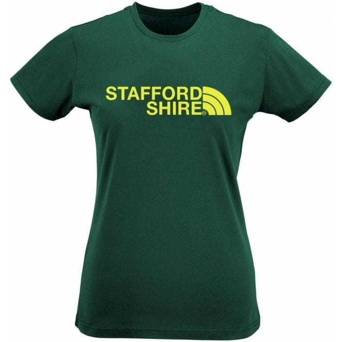 Staffordshire Region Womens Slim Fit T-Shirt