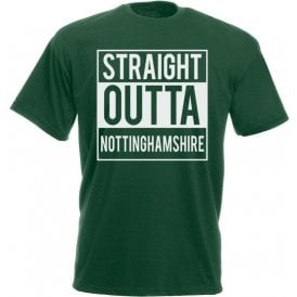 Staight Outta Nottinghamshire Kids T-Shirt