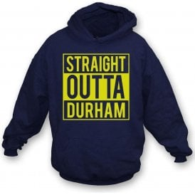 Straight Outta Durham Kids Hooded Sweatshirt