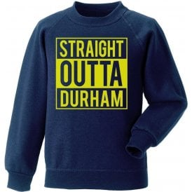 Straight Outta Durham Kids Sweatshirt
