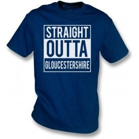 Straight Outta Gloucestershire Kids T-Shirt