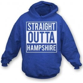 Straight Outta Hampshire Kids Hooded Sweatshirt