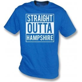 Straight Outta Hampshire Kids T-Shirt