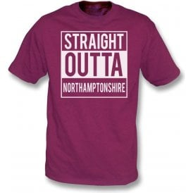 Straight Outta Northamptonshire Kids T-Shirt