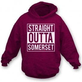 Straight Outta Somerset Kids Hooded Sweatshirt