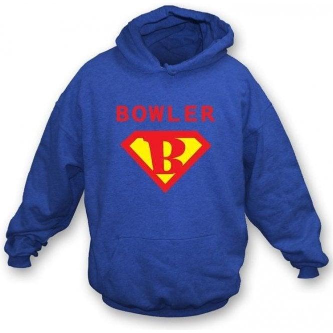 Super Bowler (Superman) Hooded Sweatshirt