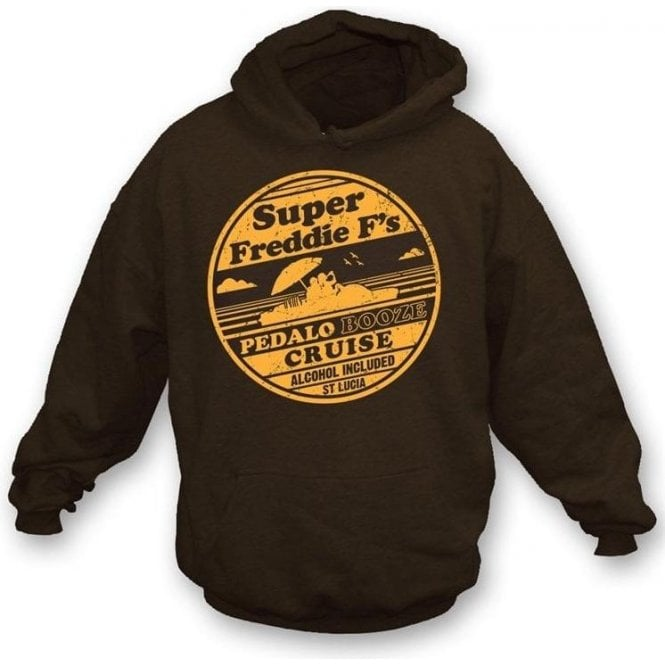 Super Freddie F's Pedalo Booze Cruise Hooded Sweatshirt