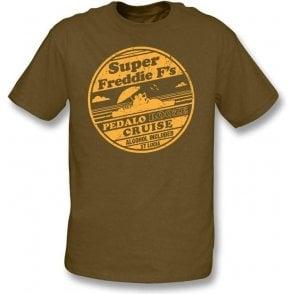 Super Freddie F's Pedalo Booze Cruise T-shirt