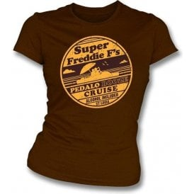 Super Freddie F's Pedalo Booze Cruise Womens Slim Fit T-Shirt