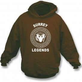 Surrey Legends (Ramones Style) Hooded Sweatshirt