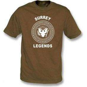 Surrey Legends (Ramones Style) T-Shirt