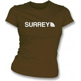 Surrey Region Womens Slim Fit T-Shirt