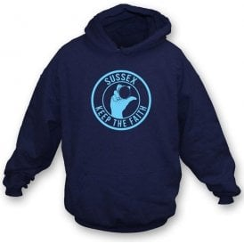 Sussex Keep The Faith Hooded Sweatshirt