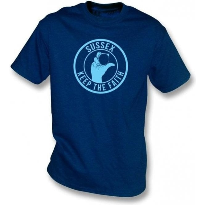 Sussex Keep The Faith T-shirt