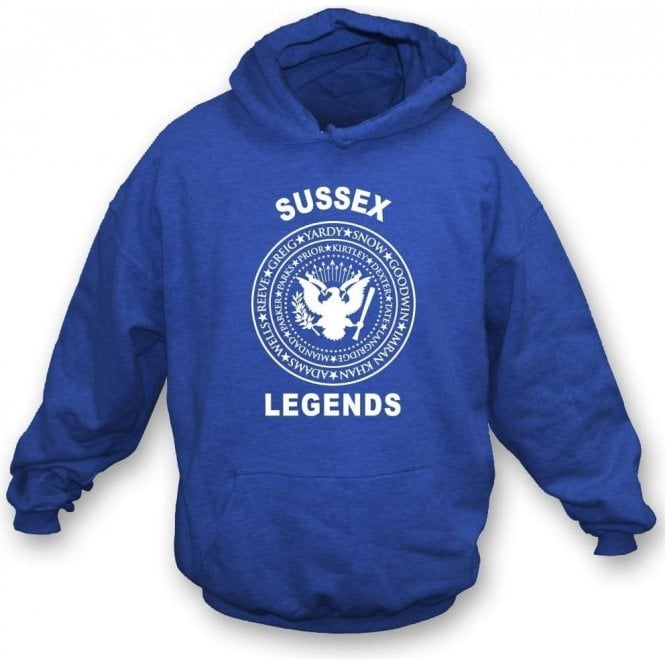 Sussex Legends (Ramones Style) Kids Hooded Sweatshirt