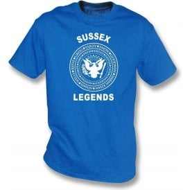 Sussex Legends (Ramones Style) Kids T-Shirt