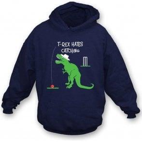 T-Rex Hates Catching Hooded Sweatshirt