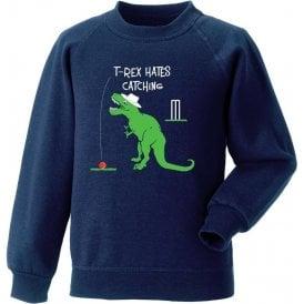 T-Rex Hates Catching Sweatshirt