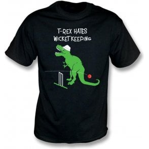 T-Rex Hates Wicketkeeping T-Shirt