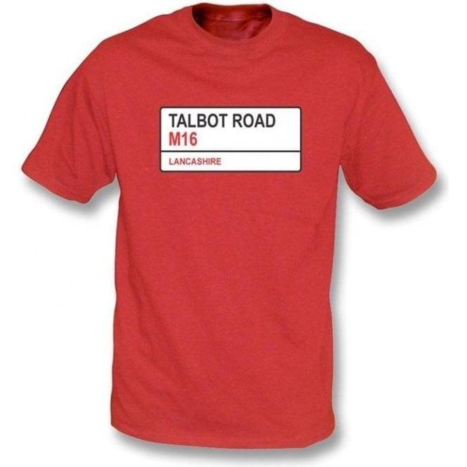 Talbot Road M16 T-shirt (Lancashire)