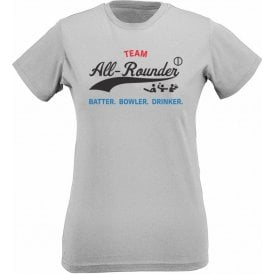 Team All-Rounder Womens Slim Fit T-Shirt