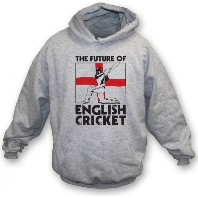 The Future Of English Cricket Child's Hooded Sweatshirt