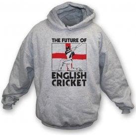 The Future Of English Cricket Child's Hooded Sweatshirt