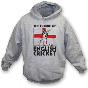 The Future Of English Cricket Hooded Sweatshirt