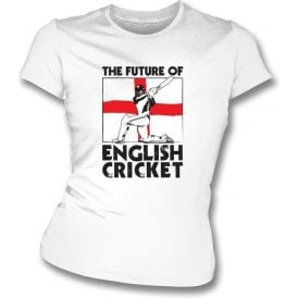 The Future Of English Cricket Women's Slimfit T-shirt