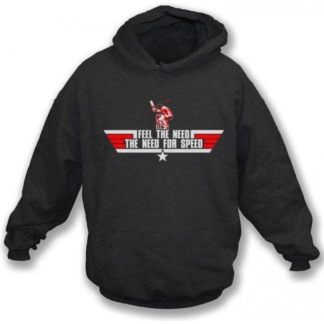 The Need for Speed (Top Gun) Hooded Sweatshirt