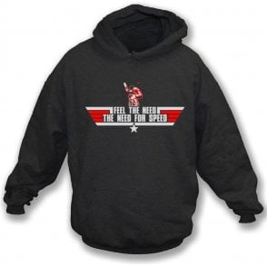 The Need for Speed (Top Gun) Hooded Sweatshirt
