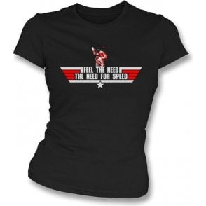 The Need for Speed (Top Gun) Womens Slim Fit T-Shirt