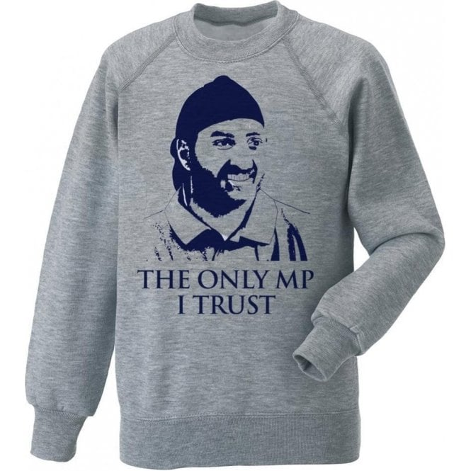 The Only MP I Trust (Monty Panesar) Kids Sweatshirt