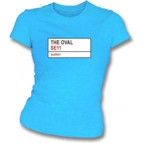 The Oval SE11 Women's Slim Fit T-shirt (Surrey)