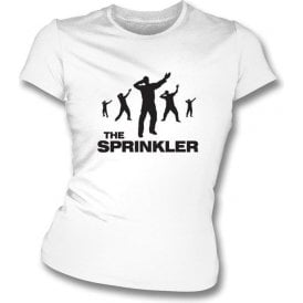 The Sprinkler Womens Slim Fit T-Shirt