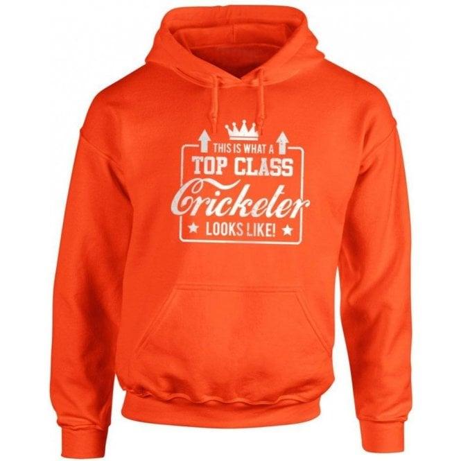 Top Class Cricketer Hooded Sweatshirt