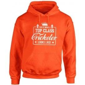 Top Class Cricketer Kids Hooded Sweatshirt