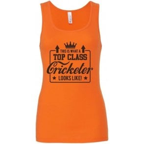 Top Class Cricketer Women's Baby Rib Tank Top