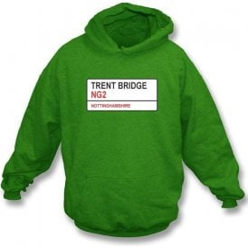 Trent Bridge NG2 Hooded Sweatshirt (Nottinghamshire)