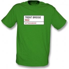 Trent Bridge NG2 T-shirt (Nottinghamshire)