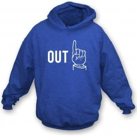 "Umpire ""Out"" Kids Hooded Sweatshirt"