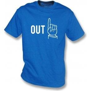 "Umpire ""Out"" Kids T-Shirt"