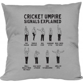 Umpire Signals Cushion