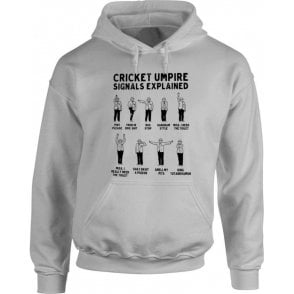 Umpire Signals Hooded Sweatshirt
