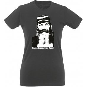 W.G. Grace Beard Liberation Front Womens Slim Fit T-Shirt