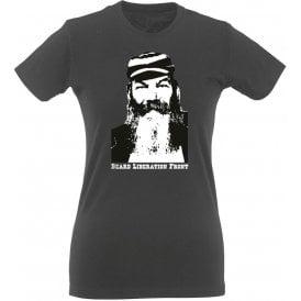 W.G. Grace Beard Liberation Front Womens Slim Fit T-Shirt