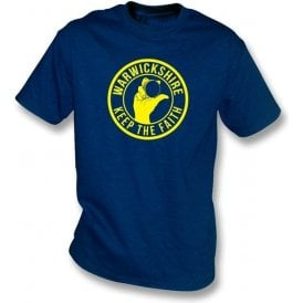 Warwickshire Keep The Faith T-shirt