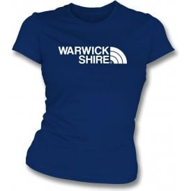 Warwickshire Region Womens Slim Fit T-Shirt