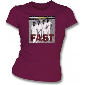 West Indies - Fast Womens Slim Fit T-Shirt